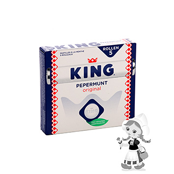 King Pepparmint 220 g